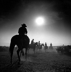 Adam Jahiel: Sunrise, YP Ranch, 1995