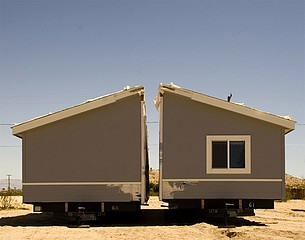 Alan Kupchick: House in Two Pieces, Twentynine Palms, California, 2007