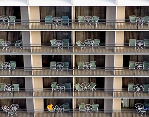 Alan Kupchick: Hotel, Honolulu, Hawaii, 2004