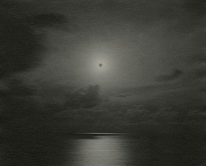 Chris McCaw: Sunburned GSP#334(Pacific Ocean), 2009
