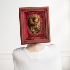 Cig Harvey: Red Velvet Frame, 2016