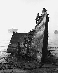 Claudio Cambon: The Beaching of the SS Minole, January 14, 1998