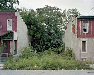 Daniel Traub: Lot, North Forty Third Street near Wallace Street, West Philadelphia, 2010