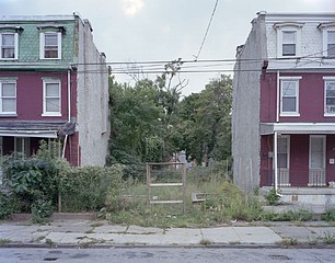 Daniel Traub:  Lot, North Preston Street near Fairmount Avenue, West Philadelphia, 2010