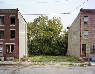 Daniel Traub: Lot, North Forty Ninth Street near Fairmount Avenue, West Philadelphia, 201