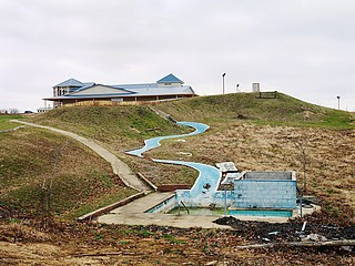 Dave Jordano: Abandoned Waterslide, Charleston, IL, 2006