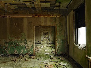 Dave Jordano: Receding Rooms, Chanute AFB, Rantoul, IL