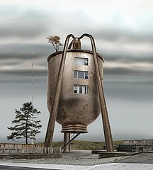 David Trautrimas: Oil Can Residence, 2008