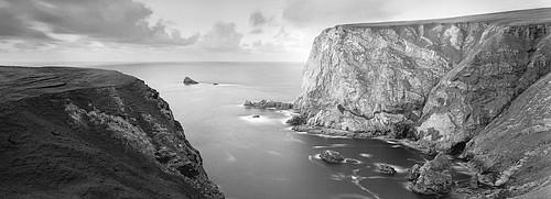 David H. Gibson: Benwee Head, County Mayo, Ireland, 1995