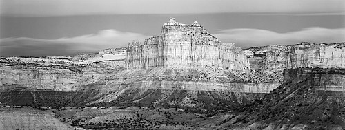 David H. Gibson: Butte in Red's Canyon, San Rafael Swell, Utah, 2001