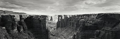 David H. Gibson: Into Monument Basin, Canyonlands National Park, Moab, Utah, 1991