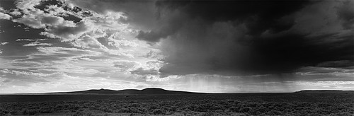 David H. Gibson: Light and Storm Showers, Hondo Mesa, New Mexico, 1996