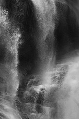 David H. Gibson: Water Cascade, 07 1682, British Columbia, Canada