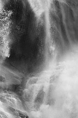 David H. Gibson: Water Cascade, 07 1680, British Columbia, Canada