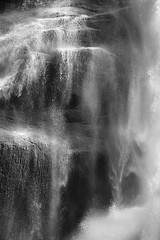 David H. Gibson: Water Cascade, 07 1557, British Columbia, Canada