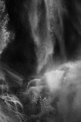 David H. Gibson: Water Cascade, 07 1688, British Columbia, Canada