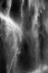 David H. Gibson: Water Cascade, 07 1617, British Columbia, Canada