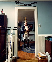 David Graham: Todd Gerding as Hessian Soldier, Richboro, PA, 1993
