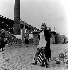 David Seymour: Prostitute Near the Krupp Works, Essen, 1947