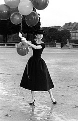 David Seymour: Audry Hepburn on the set of Funny Face, 1956