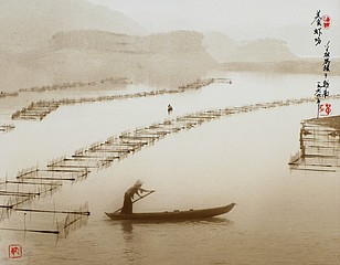 Don Hong-Oai: Spring Covers the River, Vietnam, 1971