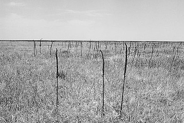 Drex Brooks: Ghost Dance Site in the Badlands, Pine Ridge Reservation, South Dakota, 1989