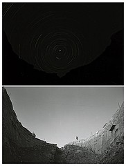Edward Ranney: Star Axis, NM, 1-7-83 and Star Axis, NM, Looking North 1-6-83