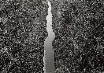 Edward Ranney: Rio Grande Gorge, NM, 1978