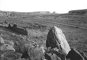 Edward Ranney: Hungo Pavi to Fajada Butte, Chaco Canyon, New Mexico, 1983