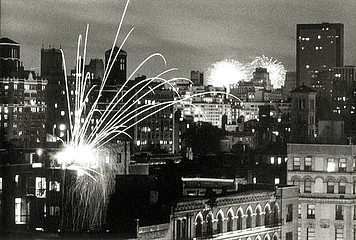 Elaine Mayes: 4th of July, N.Y.C., 1978