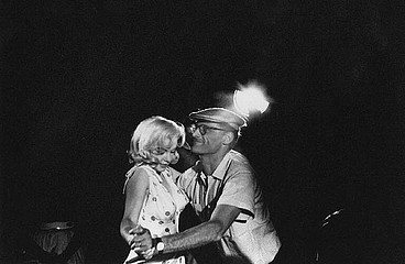 Eve Arnold: Marilyn Monroe Dancing with Arthur Miller During the Misfits.  Nevada, 1960