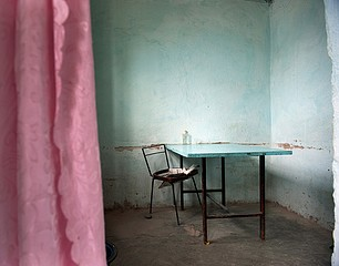 Frank Ward: Cafe, Lake Issy-Kul, Kyrgyzstan, 2012