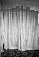 Gary Cawood: White Curtain