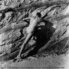 Imogen Cunningham: On Oregon Beach 4, 1967