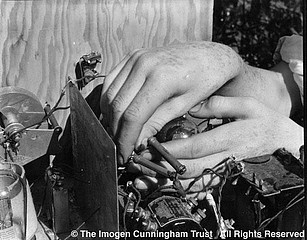 Imogen Cunningham: Padraic's Hands and His Radio, early 1930s