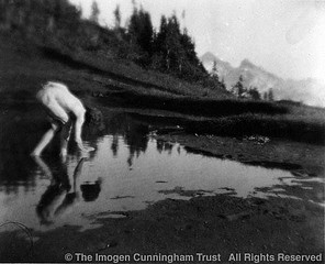 Imogen Cunningham: On Mount Rainier 10, 1915
