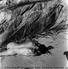 Imogen Cunningham: On Oregon Beach 3, 1967