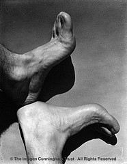 Imogen Cunningham: Feet of Paul Maimone, 1920