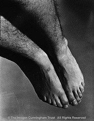 Imogen Cunningham: Feet of Paul Maimone