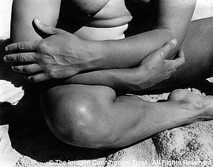 Imogen Cunningham: Alta on the Beach 4, 1920