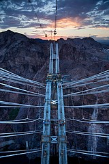 Jamey Stillings: Nevada Pylon View, July 1, 2009
