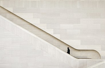 Jeffris Elliott: Islamic Woman Ascending Stairs, 2007