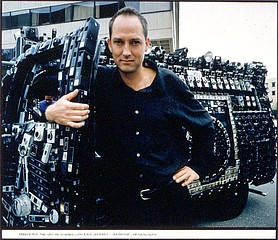 Jim Stone: Harrod and the Van he Covered with 1,705 Cameras: Cambridge,  Massachusetts, 1995