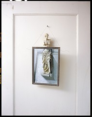 John Chervinsky: Statue, Painting on Door, 2012
