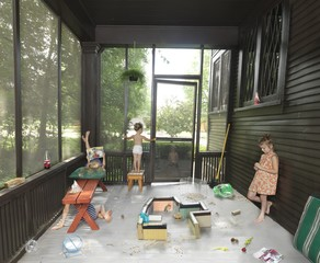 Julie Blackmon: The Hamster Handbook, 2014