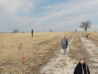 Julie Blackmon: Lot For Sale, 2015