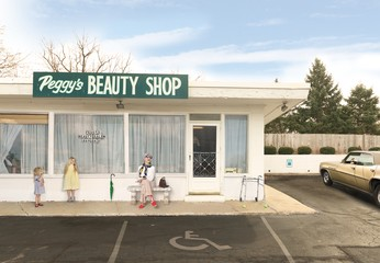 Julie Blackmon: Peggy's Beauty Shop, 2015