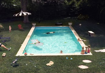 Julie Blackmon: Pool, 2015
