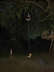 Julie Blackmon: Rope Swing, 2016