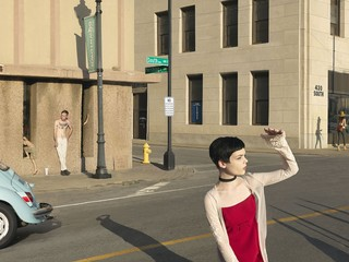 Julie Blackmon: South & Pershing Street, 2017
